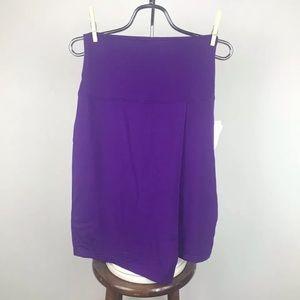 Athleta seaside fold over skirt purple